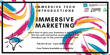 Immersive Tech Introductions: Immersive Marketing tickets