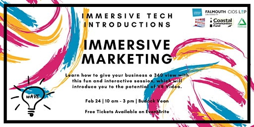 Immersive Tech Introductions: Immersive Marketing