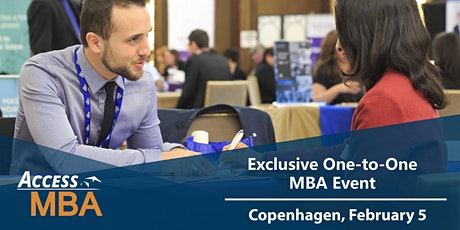 One-to-One MBA Event in Copenhagen tickets
