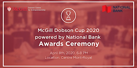 McGill Dobson Cup Awards Ceremony tickets