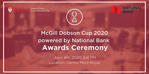 McGill Dobson Cup Awards Ceremony