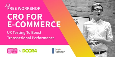 CRO For E-commerce: UX Testing To Boost Transactional Performance tickets