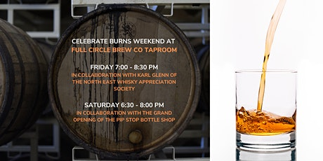 Burns Weekend Whisky Tastings tickets