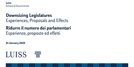 Downsizing Legislatures. Experiences, Proposals and Effects biglietti