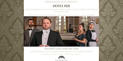 Hotel 1921 Murder Mystery