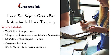Lean Six Sigma Green Belt Certification Training Course (LSSGB) in Chatham-Kent tickets