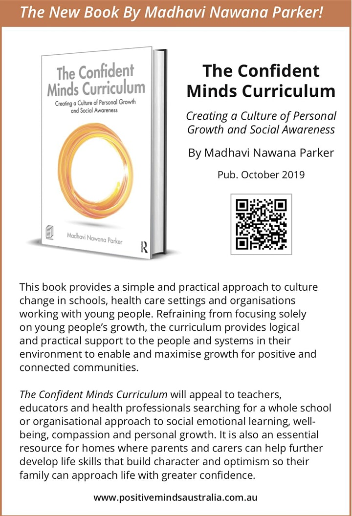 Confident Minds Curriculum Professional Training with Madhavi Nawana Parker image