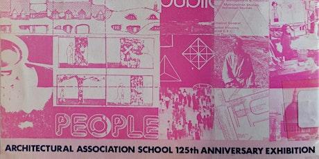 La mémoire en œuvre. L'Architectural Association School billets