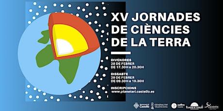XV Jornades de Ciències de la Terra al Planetari tickets