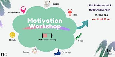 Motivation Workshop Becode Antwerpen