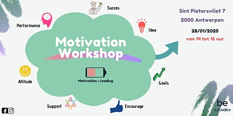 Motivation Workshop Becode Antwerpen tickets