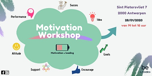 Motivation Workshop Becode Antwerpen
