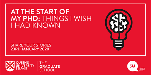 At the start of my PhD: Things I wish I had known