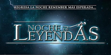 Noche de Leyendas 2020 bilhetes