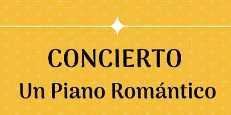 Un piano romántico - CONCIERTO entradas