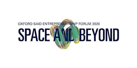 Oxford Saïd Entrepreneurship Forum (OSEF) ISfB ticket application tickets