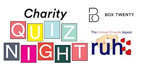 Box Twenty Charity Quiz tickets