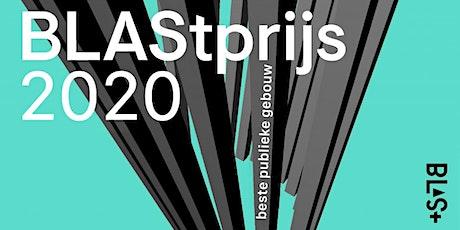 Uitreiking BLAStprijs 2020 GEANNULEERD tickets