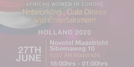 African Women in Europe Holland Networking Event tickets