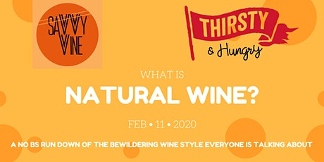 What is Natural Wine? tickets