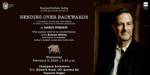 Book Launch: Bending over Backwards by Carlo Pizzati