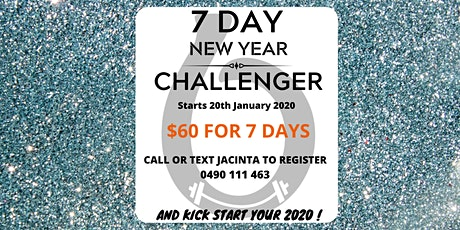 7 Day New Year Challenger tickets