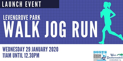 Levengrove Park  Walk, Jog, Run Launch Event