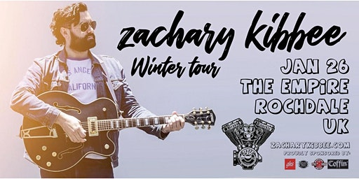 Zachary Kibbee -  Winter tour UK 2020