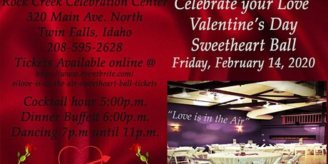 Love is in the Air, Sweetheart Ball tickets