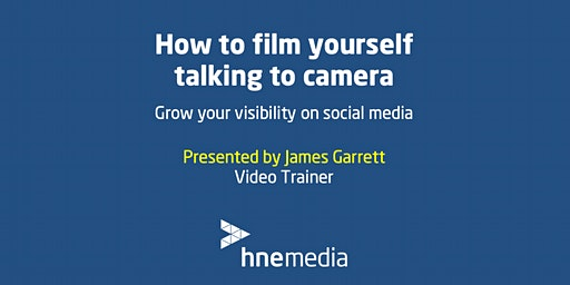 How to film yourself talking to camera: Grow your visibility on social media
