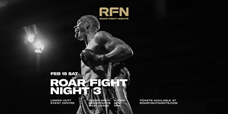 Roar Fight Night #3 tickets