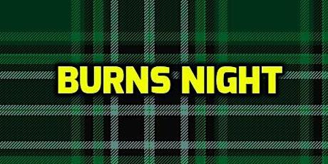 Gilchrist Burns Night tickets