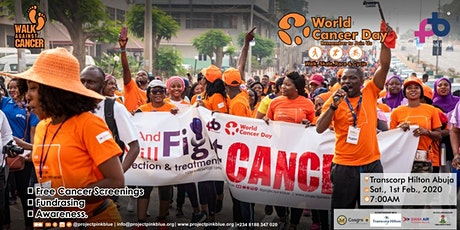 World Cancer Day 2020 Walk, Race and Cycle against Cancer in Abuja tickets
