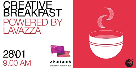 Creative Breakfast con SheTech powered by Lavazza biglietti
