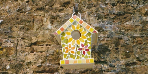 Mosaic Birdhouse Workshop