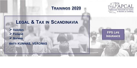 Legal & Tax in Scandinavia tickets