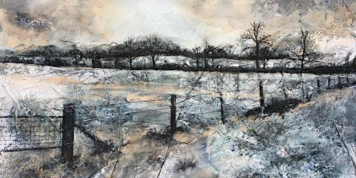 The Mixed Media Landscape Art Workshop with Hayley Mills - Fife, Scotland