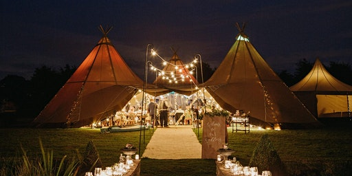 Twilight at The Meadow Vale Wedding Festival