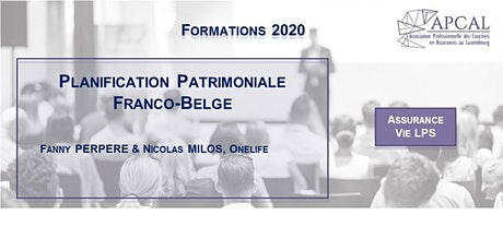 Planification patrimoniale Franco-Belge tickets