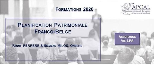Planification patrimoniale Franco-Belge