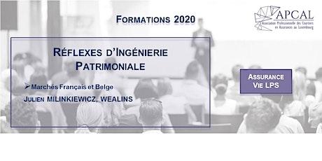 Reflexes Patrimoniaux Franco-Belges Tickets