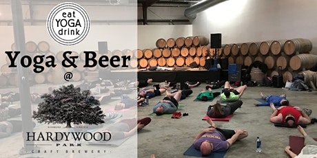 Yoga & Beer at Hardywood Park Craft Brewery tickets