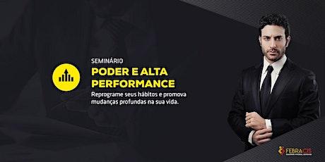 [Campo Grande/MS] Palestra Poder e Alta Performance 25/01 ingressos