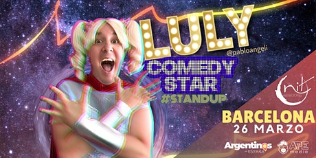 LULY COMEDY STAR de Pablo Angeli - BARCELONA tickets