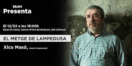 ERAM PRESENTA: El metge de Lampedusa entradas