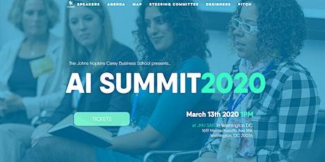 Johns Hopkins Carey Business School AI Summit 2020 tickets