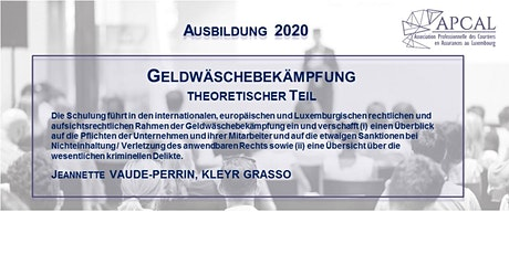 Geldwäschebekämpfung - theoretischer Teil - DIGITALES TRAINING biglietti