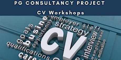 Postgraduate CV Workshops (January 2020 cohort only) tickets