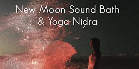 New Moon Sound Bath & Yoga Nidra tickets