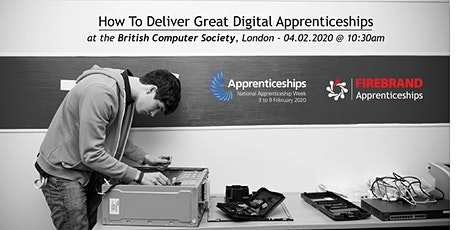 Firebrand/BCS's How To Deliver Great Digital Apprenticeships tickets